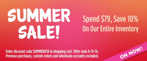 10% off $79 Summer Sale!