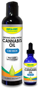Organic Cannabis Oil - Cannabidiol not THC